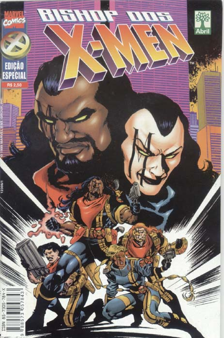 BISHOP DOS X-MEN ESPECIAL - ED. ABRIL